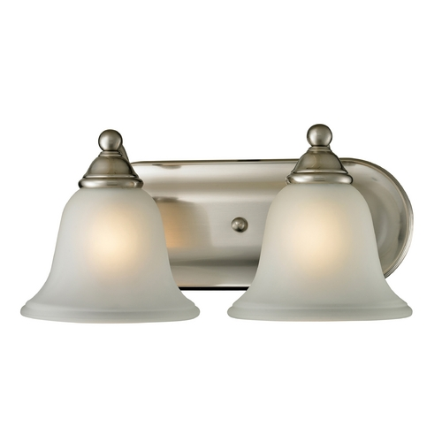 Cornerstone Lighting Cornerstone Lighting Shelburne Brushed Nickel Bathroom Light 5502BB/20