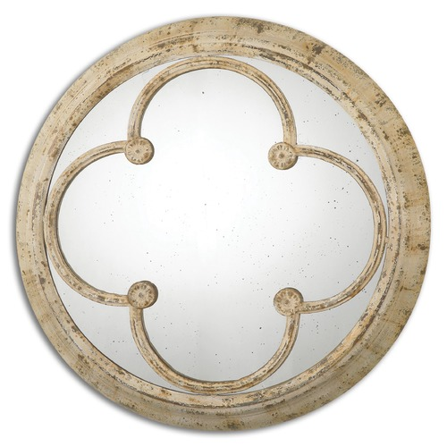 Uttermost Lighting Uttermost Livianus Round Metal Mirror 13884