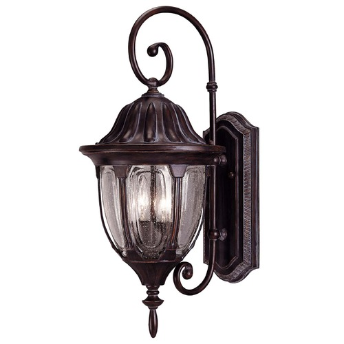Savoy House Savoy House Bark & Gold Outdoor Wall Light 5-1501-52