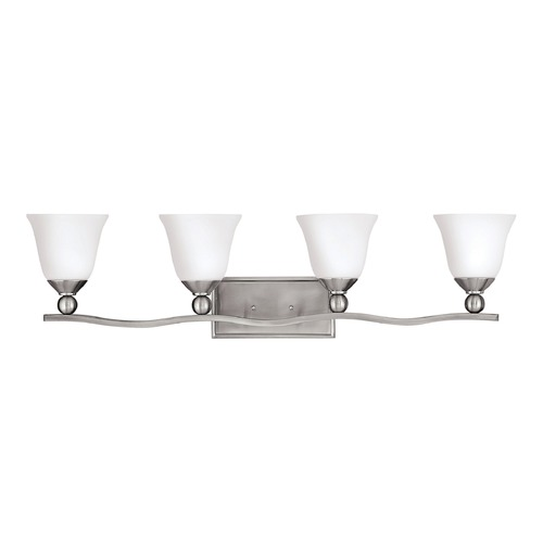 Hinkley Lighting Hinkley Lighting Bolla Brushed Nickel Bathroom Light 5894BN-GU24