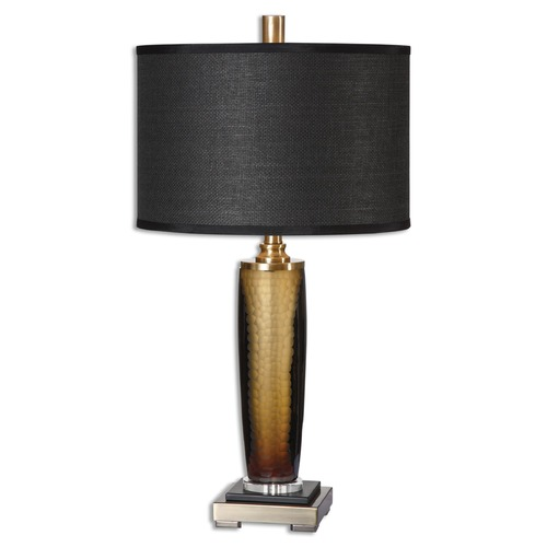 Uttermost Lighting Uttermost Circello Textured Glass Table Lamp 26602-1