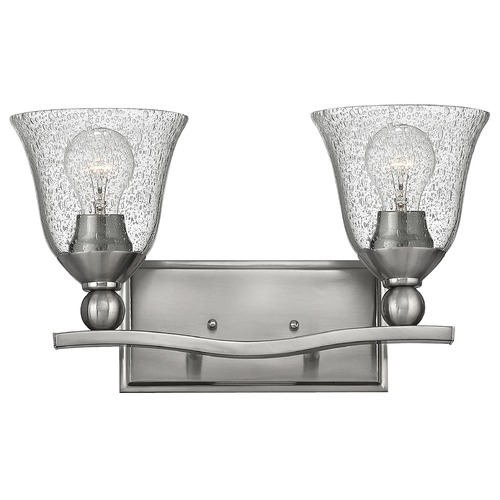 Hinkley Hinkley Bolla Brushed Nickel Bathroom Light 5892BN-CL