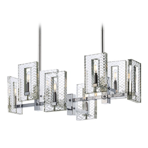 Maxim Lighting Maxim Lighting Suave Polished Nickel Island Light 38015BCPN