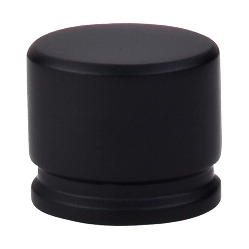 Top Knobs Hardware Modern Cabinet Knob in Flat Black Finish TK61BLK