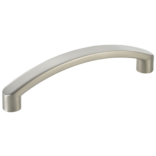 Seattle Hardware Co Satin Nickel Cabinet Pull - 3-3/4-inch Center to Center HW16-414-09