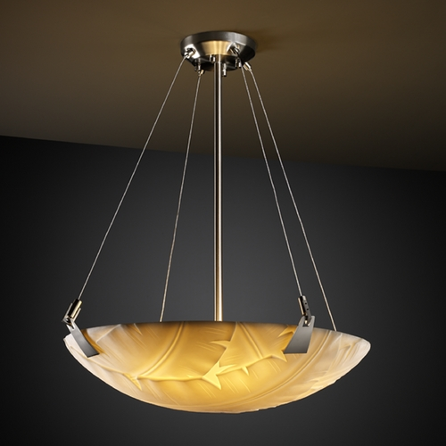 Justice Design Group Justice Design Group Porcelina Collection Pendant Light PNA-9642-35-BANL-NCKL