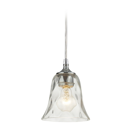 Elk Lighting Mini-Pendant Light with Clear Glass 46010/1-LA