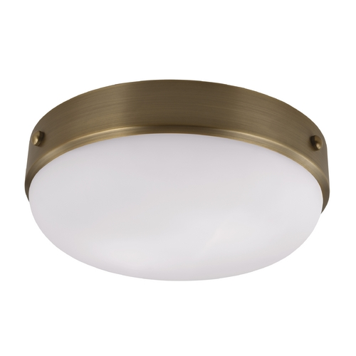 Feiss Lighting Feiss Lighting Cadence Dark Antique Brass Flushmount Light FM390DAB