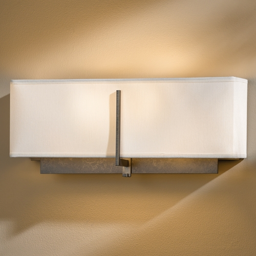 Hubbardton Forge Lighting Hubbardton Forge Lighting Exos Dark Smoke Sconce 207680-SKT-07-SF1606
