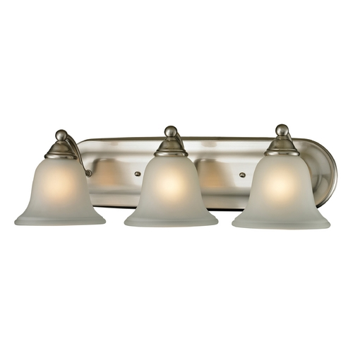 Cornerstone Lighting Cornerstone Lighting Shelburne Brushed Nickel Bathroom Light 5503BB/20