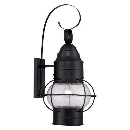 Quoizel Lighting Quoizel Cooper Mystic Black Outdoor Wall Light COR8412KFL