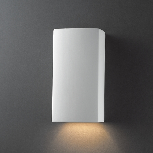 Justice Design Group Outdoor Wall Light in Bisque Finish CER-0910W-BIS