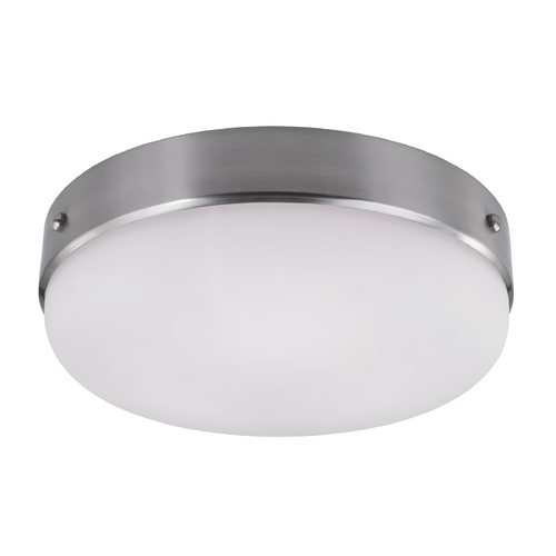 Feiss Lighting Feiss Lighting Cadence Brushed Steel Flushmount Light FM391BS