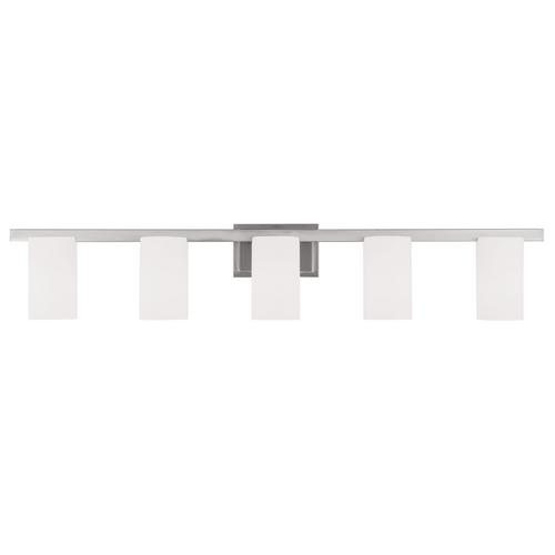Livex Lighting Livex Lighting Astoria Brushed Nickel Bathroom Light 1335-91