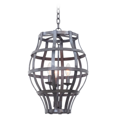 Kalco Lighting Kalco Lighting Townsend Vintage Iron Pendant Light 7494VI