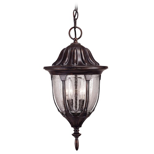Savoy House Savoy House Bark & Gold Outdoor Hanging Light 5-1502-52