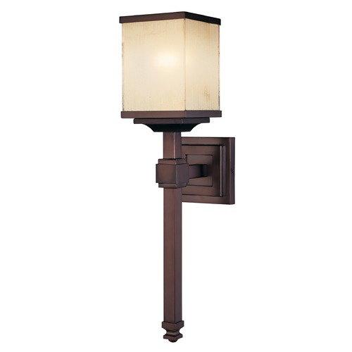 Metropolitan Lighting Metropolitan Lighting Underscore Cimmaron Bronze Sconce N6961-1-267B