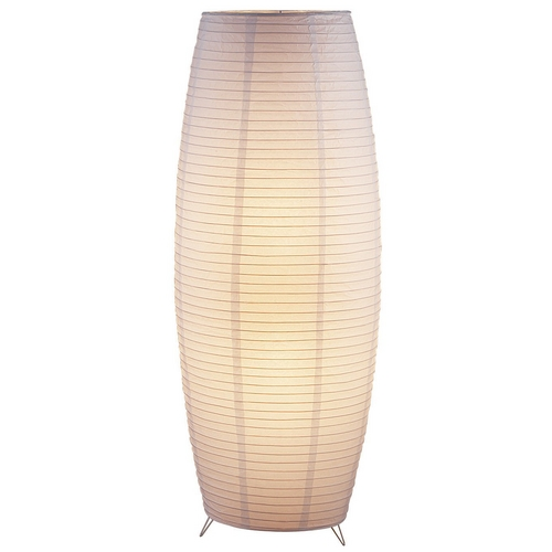 Adesso Home Lighting Modern Floor Lamp in White Finish 6135-02