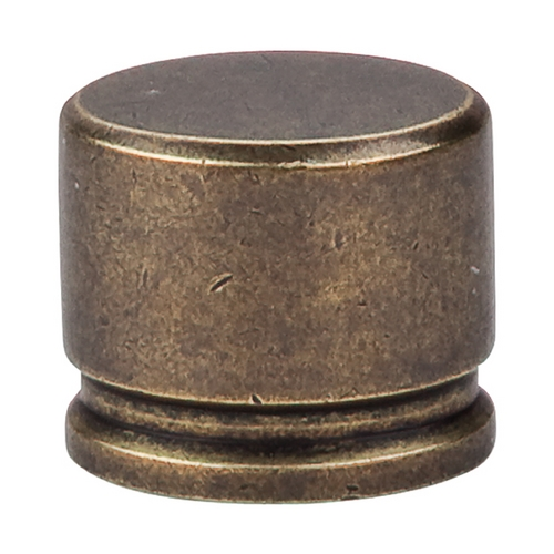 Top Knobs Hardware Modern Cabinet Knob in German Bronze Finish TK61GBZ