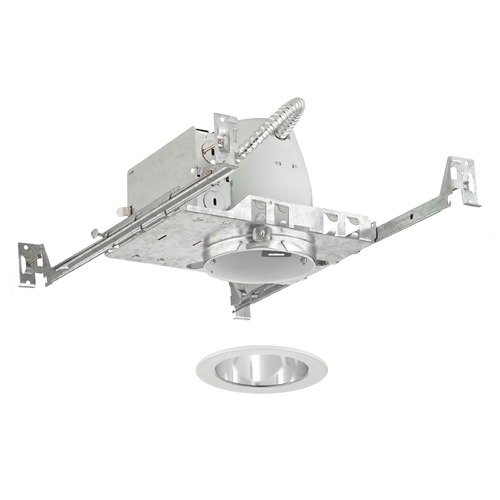 Recesso Lighting by Dolan Designs Recesso Lighting 4-Inch Non-IC Recessed Light Kit with White Trim TC4/T400C-WH