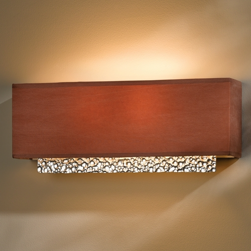 Hubbardton Forge Lighting Hubbardton Forge Lighting Oceanus Vintage Platinum Sconce 207690-82-837