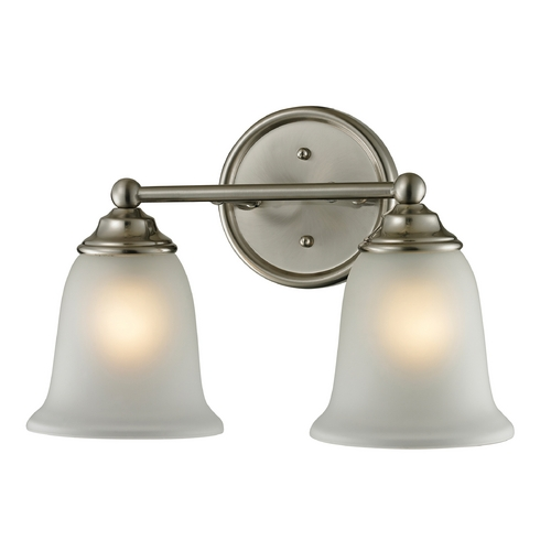 Cornerstone Lighting Cornerstone Lighting Sudbury Brushed Nickel Bathroom Light 5602BB/20