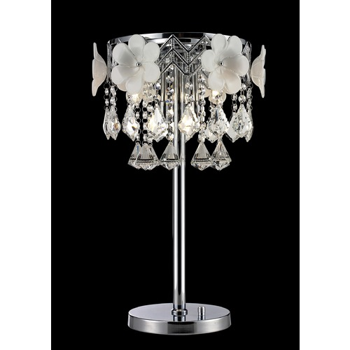 Lite Source Lighting Lite Source Daisy Ii Chrome Table Lamp EL-30113