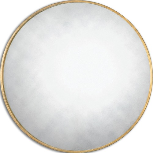 Uttermost Lighting Uttermost Junius Round Gold Mirror 13887