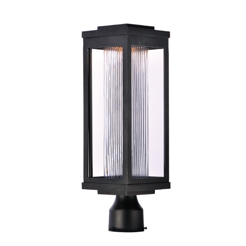 Maxim Lighting Maxim Lighting Salon LED Black LED Post Light 55900CRBK