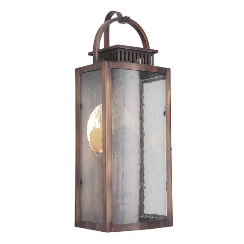 Craftmade Lighting Craftmade Weathered Copper LED Outdoor Wall Light 3000K 400LM ZA1512-WC-LED