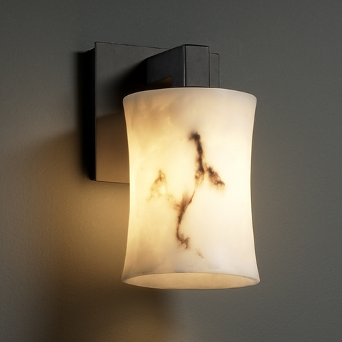 Justice Design Group Justice Design Group Lumenaria Collection Sconce FAL-8921-60-MBLK