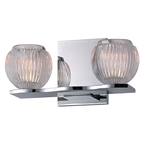 Hudson Valley Lighting Odem 2 Light Bathroom Light - Polished Chrome 3162-PC