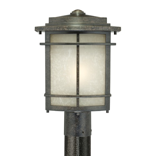 Quoizel Lighting Quoizel Galen Imperial Bronze Post Light GLN9010IBFL