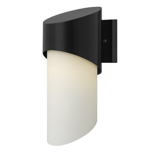Hinkley Lighting Hinkley Lighting Solo Satin Black Outdoor Wall Light 2060SK-GU24