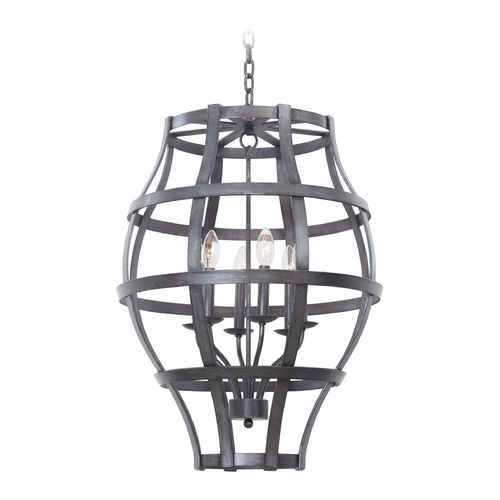 Kalco Lighting Kalco Lighting Townsend Vintage Iron Pendant Light 7496VI