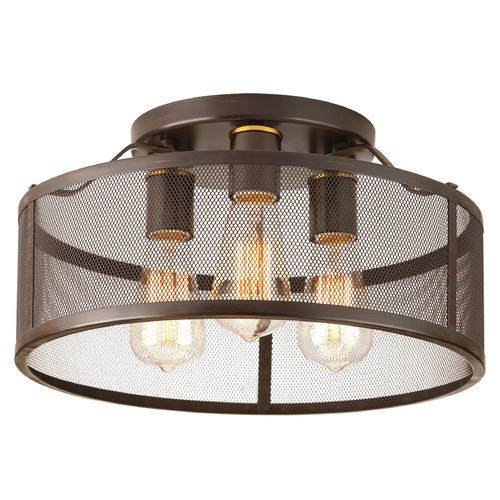 Progress Lighting Progress Lighting Swing Antique Bronze Flushmount Light P3452-20