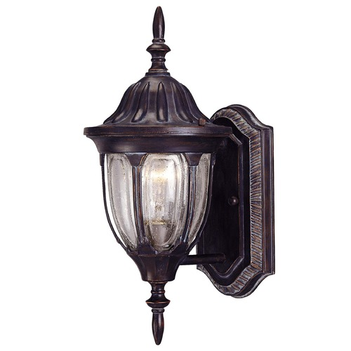 Savoy House Savoy House Bark & Gold Outdoor Wall Light 5-1503-52