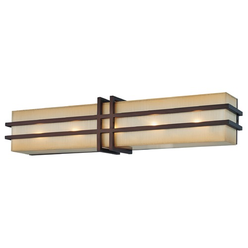 Metropolitan Lighting Metropolitan Lighting Underscore Cimmaron Bronze Bathroom Light N2955-1-267B