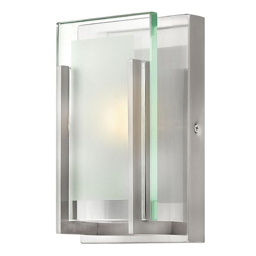 Hinkley Lighting Hinkley Lighting Latitude Brushed Nickel LED Sconce 5650BN-LED2