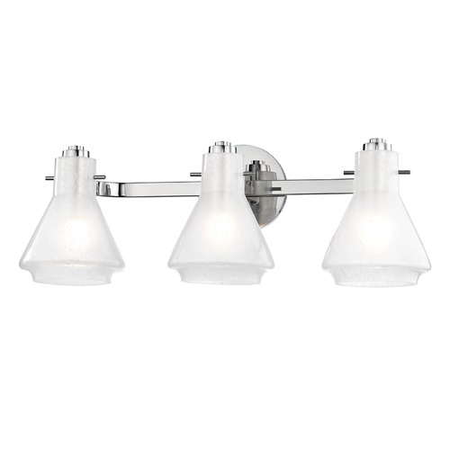 Hudson Valley Lighting Mid-Century Modern Bathroom Light Polished Nickel Mitzi Rosie by Hudson Valley H129303-PN