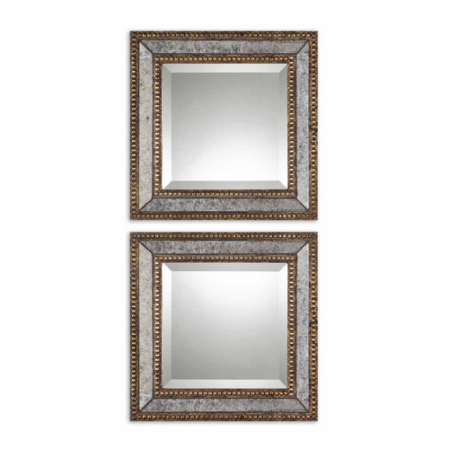 Uttermost Lighting Square 18-Inch Mirror 13790