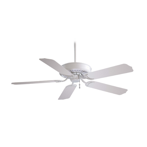 Minka Aire Ceiling Fan Without Light in White Finish F571-WH