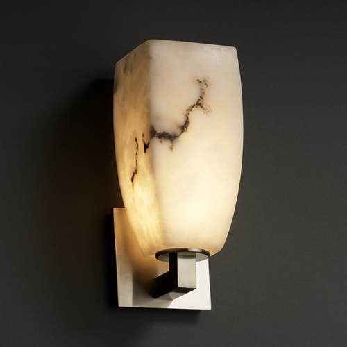 Justice Design Group Justice Design Group Lumenaria Collection Sconce FAL-8921-65-NCKL