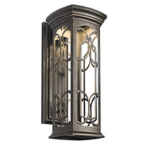 Kichler Lighting Kichler Franceasi 22-Inch LED Outdoor Wall Light 49228OZLED
