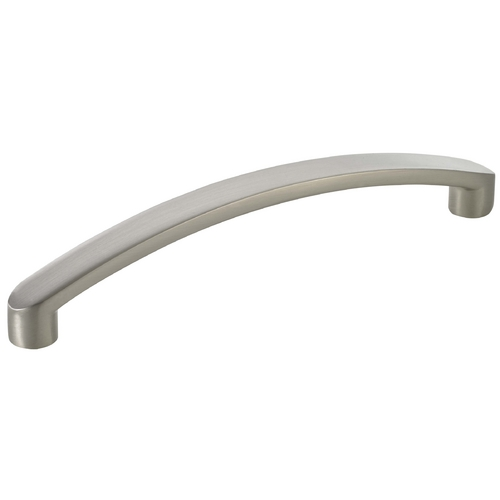 Seattle Hardware Co Satin Nickel Cabinet Pull - 5-inch Center to Center HW16-512-09