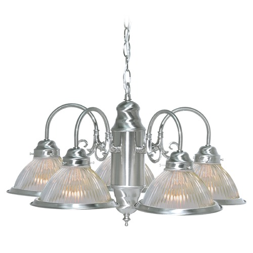 Nuvo Lighting Nuvo Lighting Brushed Nickel Chandelier 76/444