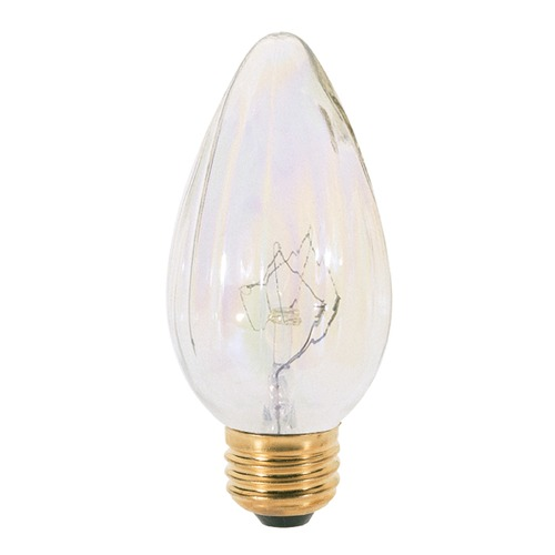 Satco Lighting Incandescent F15 Light Bulb Medium Base 120V Dimmable by Satco S2769