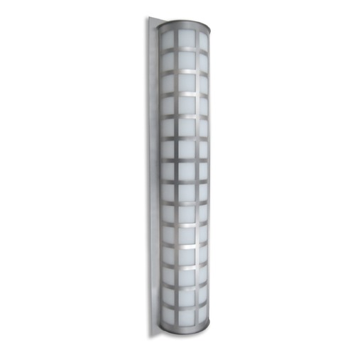 Besa Lighting Besa Lighting Scala Brushed Aluminum Outdoor Wall Light SCALA40-WA-BA