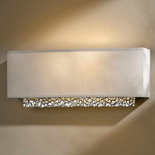 Hubbardton Forge Lighting Hubbardton Forge Lighting Oceanus Vintage Platinum Sconce 207690-82-839