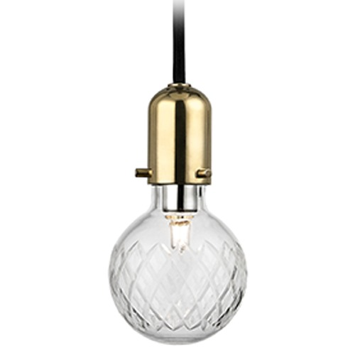 Hudson Valley Lighting Marlow 1 Light Mini-Pendant Light - Aged Brass 1100-AGB